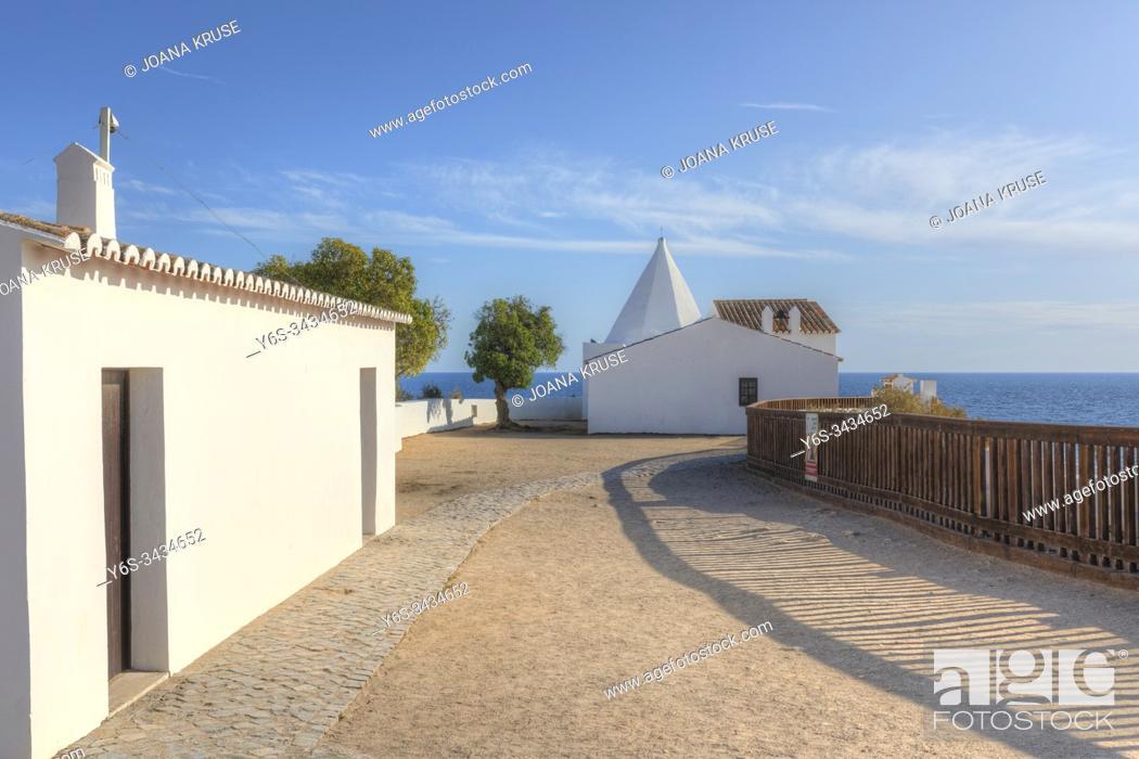 Stock Photo: Fort of Nossa Senhora da Rocha, Lagoa, Algarve, Portugal, Europe.
