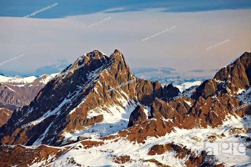 Stock Photo: Mountains.