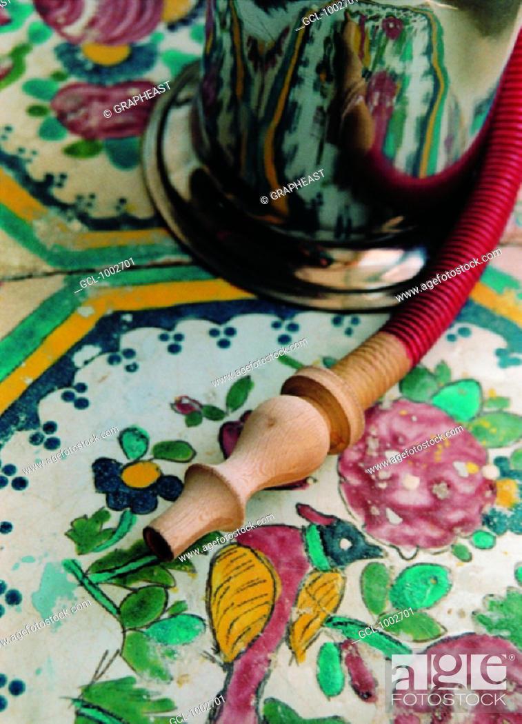Stock Photo: Sheesha (water pipe).