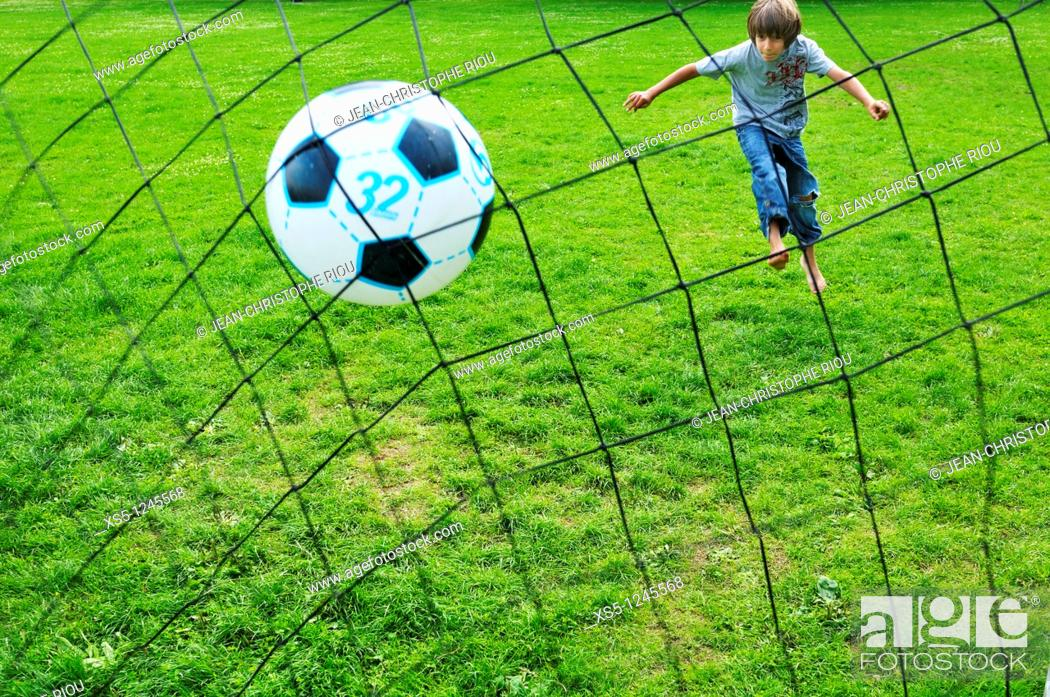 Photo de stock: Football.