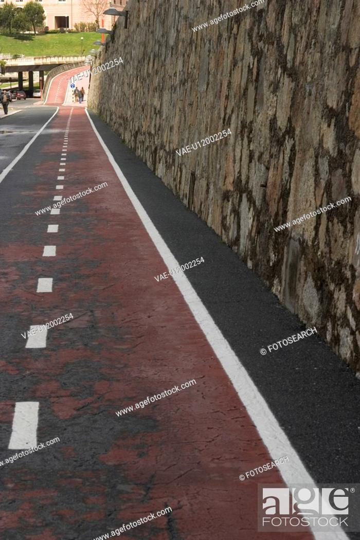 Stock Photo: street, way, path, road, pavement, pattern.