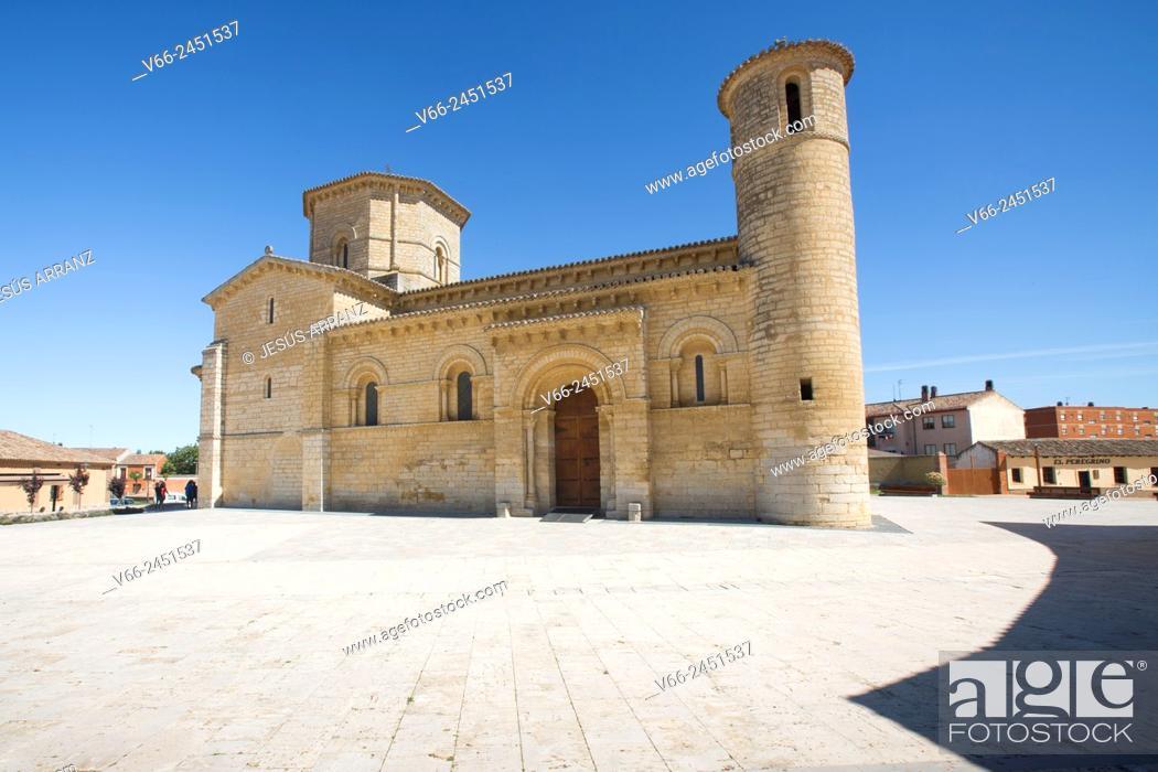 Imagen: Church of San Martin, Romanesque style, 11th Century. Fromista. Province of Palencia, Castile-Leon, Spain.