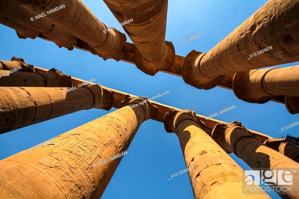 Imagen: Karnak temple, Luxor city, Egypt.