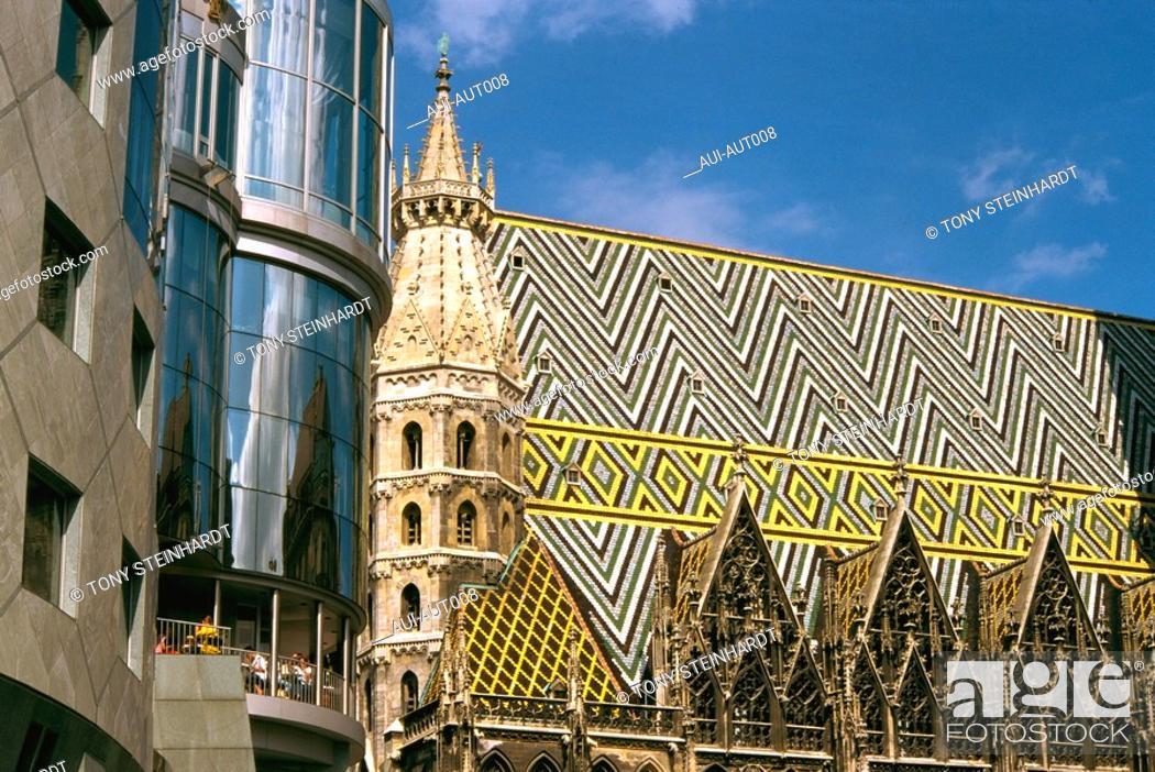 Stock Photo: Austria - Vienna - St Stephan Cathedral.