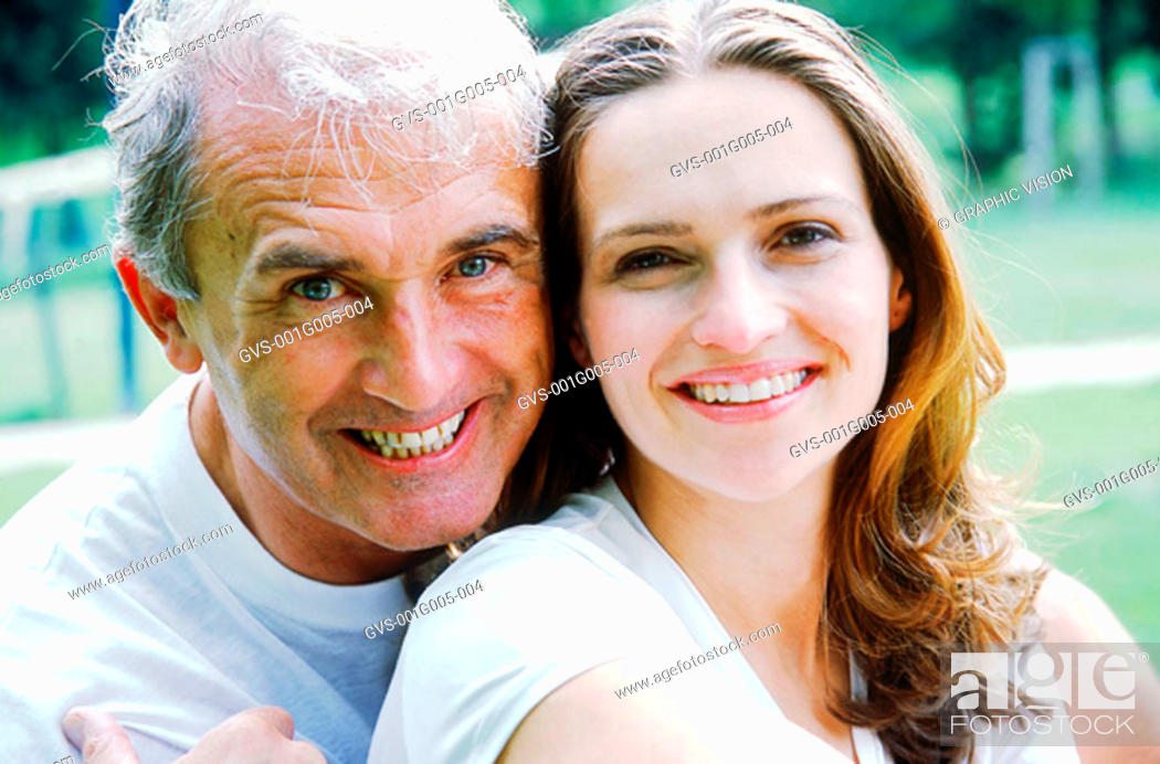 Stock Photo: Portrait of a couple.