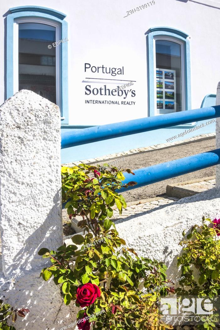 Stock Photo: sotheby's portugal, carvoeiro branch office, carvoeiro, algarve, portugal.