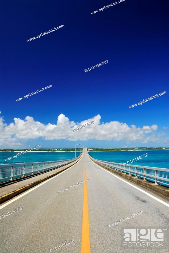 Stock Photo: Kurima Ohashi bridge.