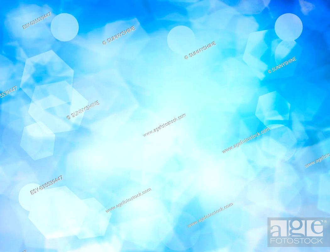 Imagen: Abstract blur blue background pattern.
