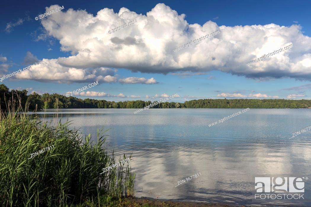 Stock Photo: Wurlsee in der Uckermark, Deutschland.