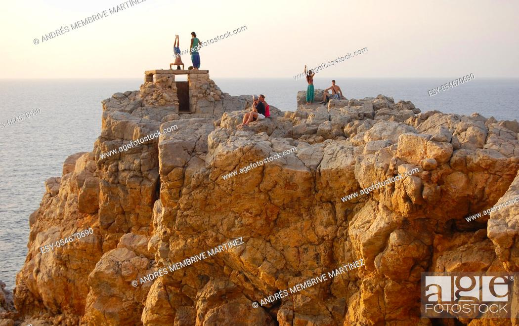 Stock Photo: Menorca Balearic Islands Spain Europe. .