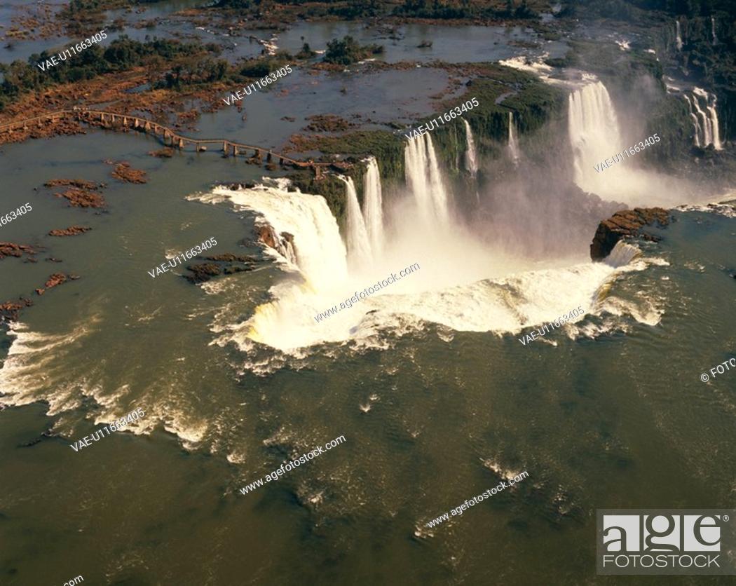 Stock Photo: Iguazu Falls.