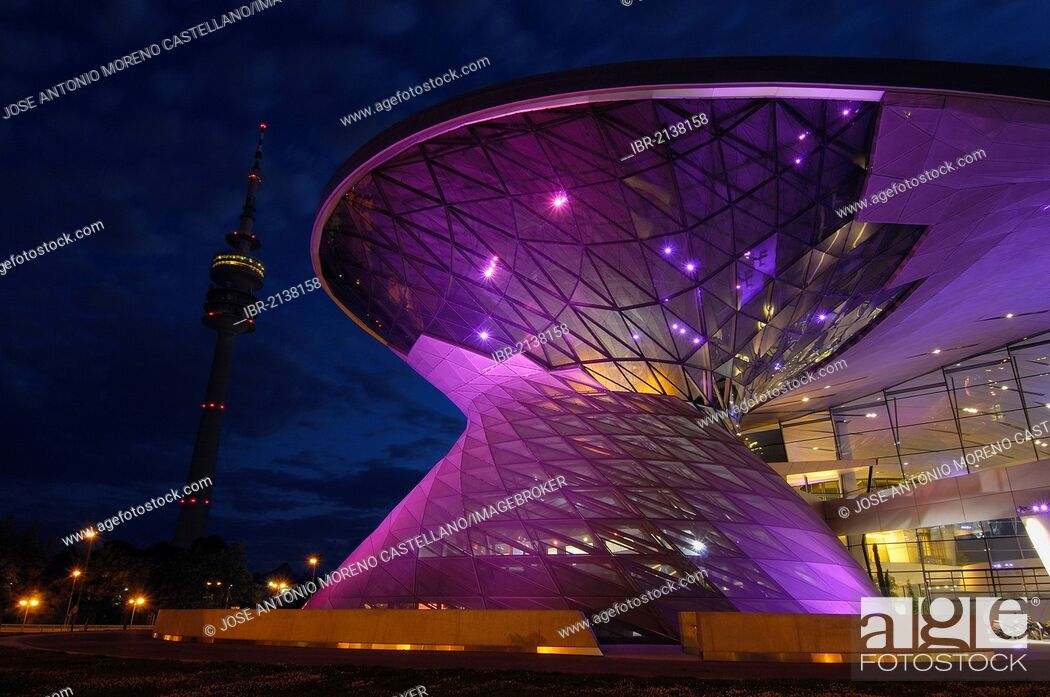 Stock Photo: BMW Welt, BMW World, Munich, Bavaria, Germany, Europe.