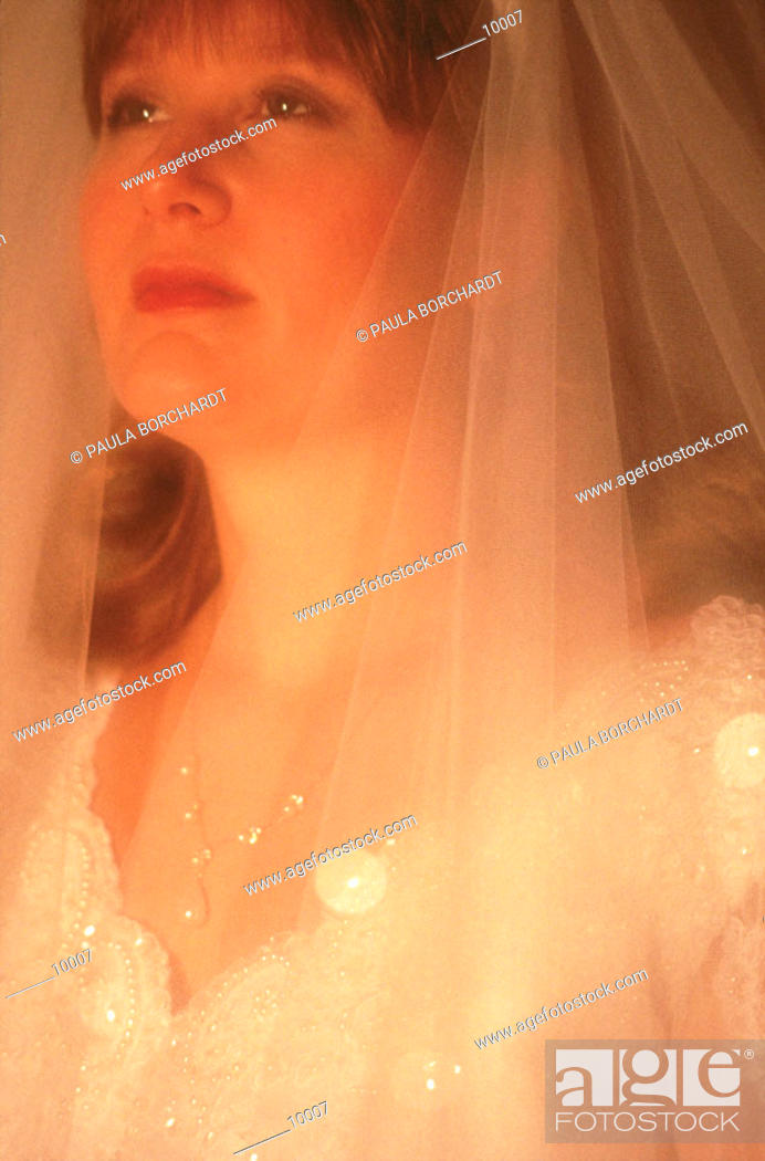 Stock Photo: Portrait of bride.