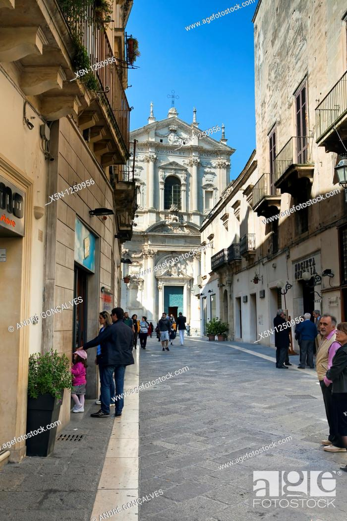 Stock Photo: Lecce, Italy.