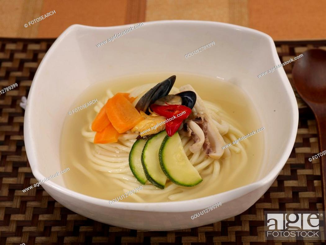 Stock Photo: noodles, dish, Chinese Cuisine, Chinese, dishes, Chinese, Food styling.