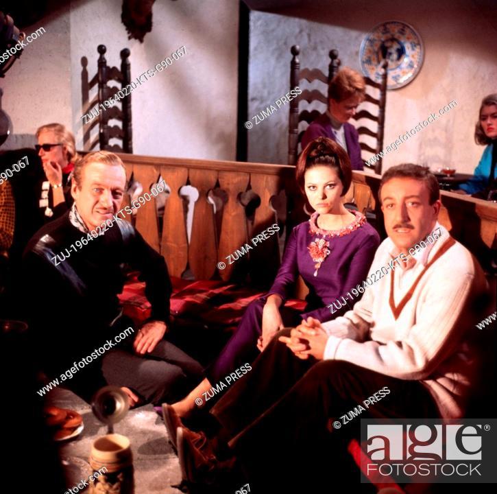 730bb85a6a4e ... USA; Image from director Blake Edwards' crime comedy 'The Pink Panther'  starring CLAUDIA CARDINALE as Princess Dala, DAVID NIVEN as Sir Charles  Lytton, ...