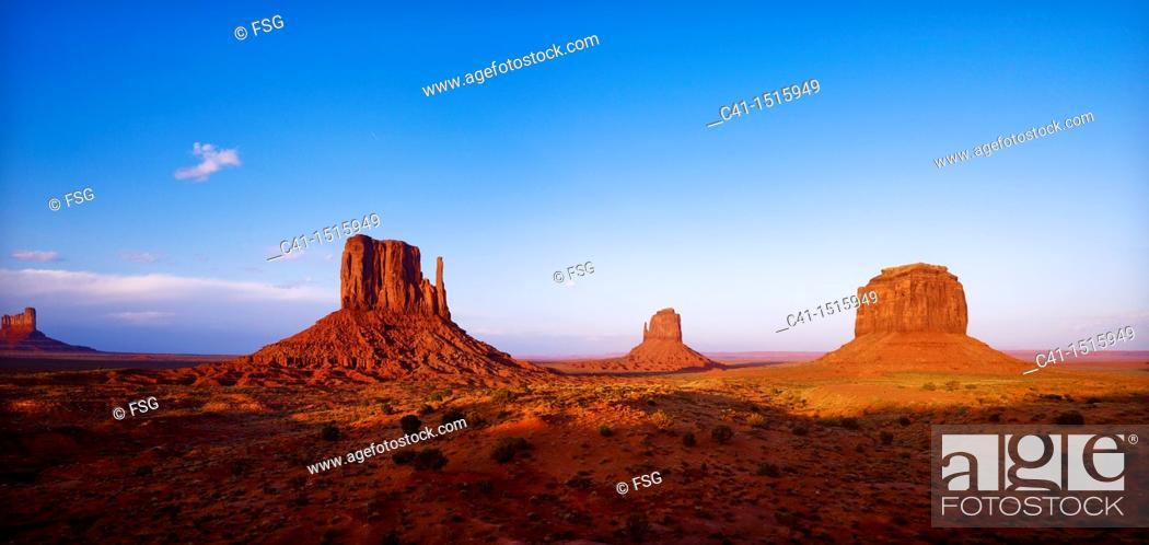 Imagen: Monument Valley Navajo Tribal Park, Arizona, USA.