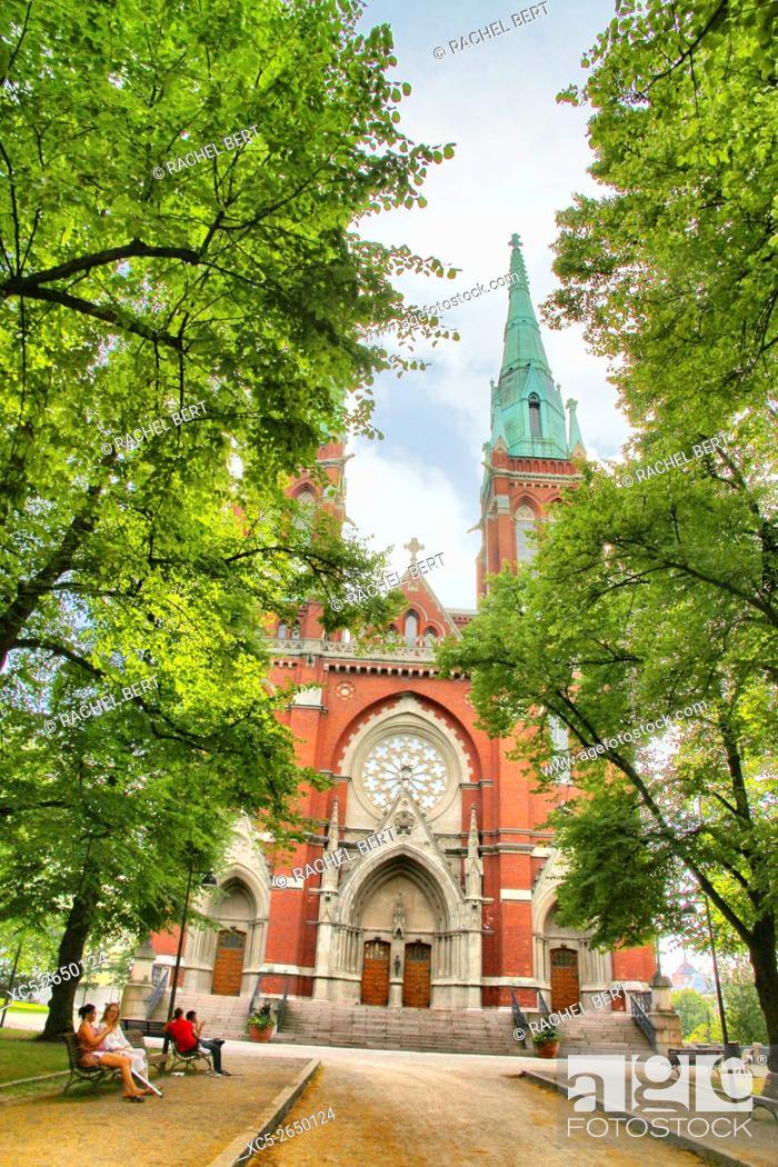 Stock Photo: Johanneksenkirkko (St. John's Church), Helsinki, Finland.