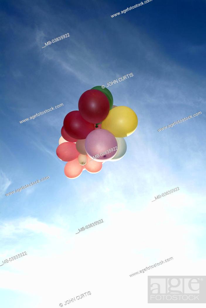 Heaven Balloons Fly Series Party Celebration Birthday Child