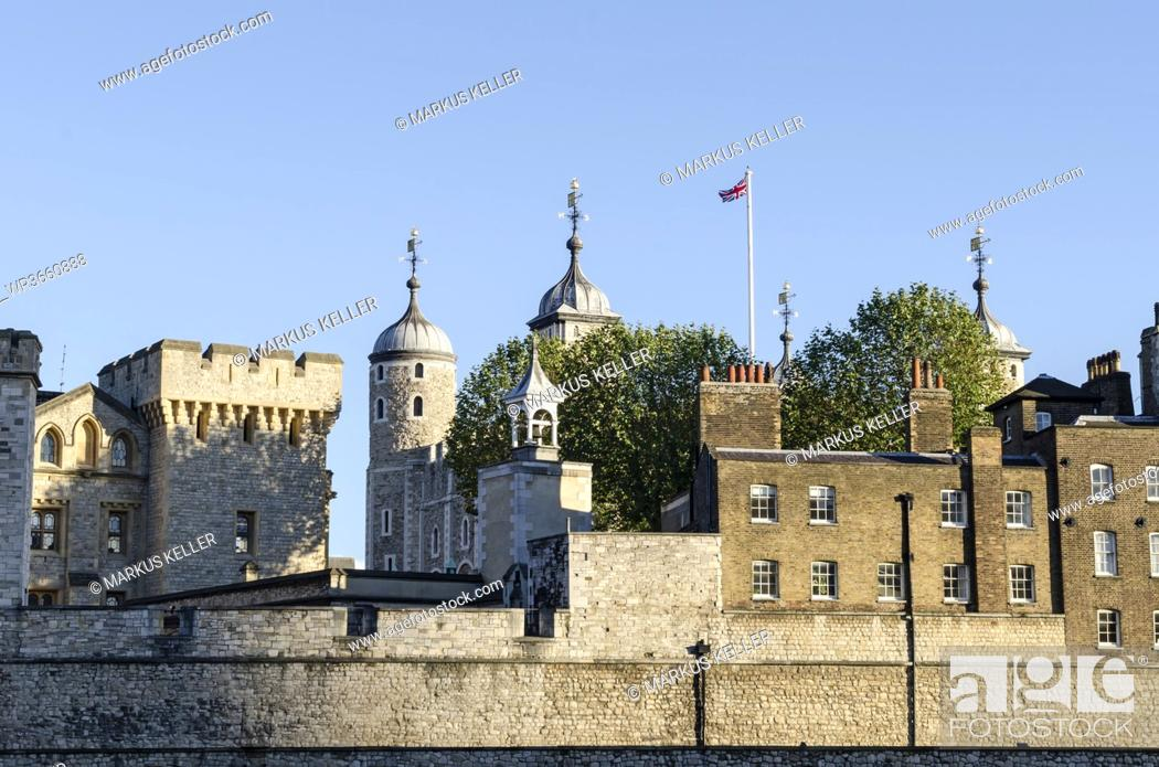 Stock Photo: United Kingdom, London, Tower of London.