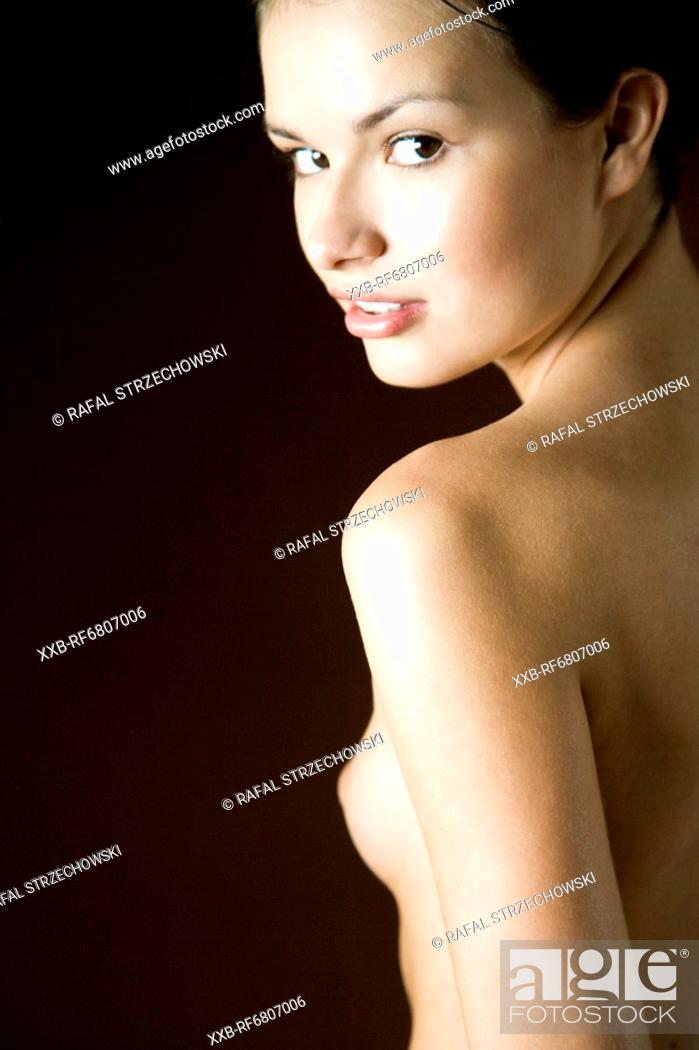 Stock Photo: Beautiful naked woman.