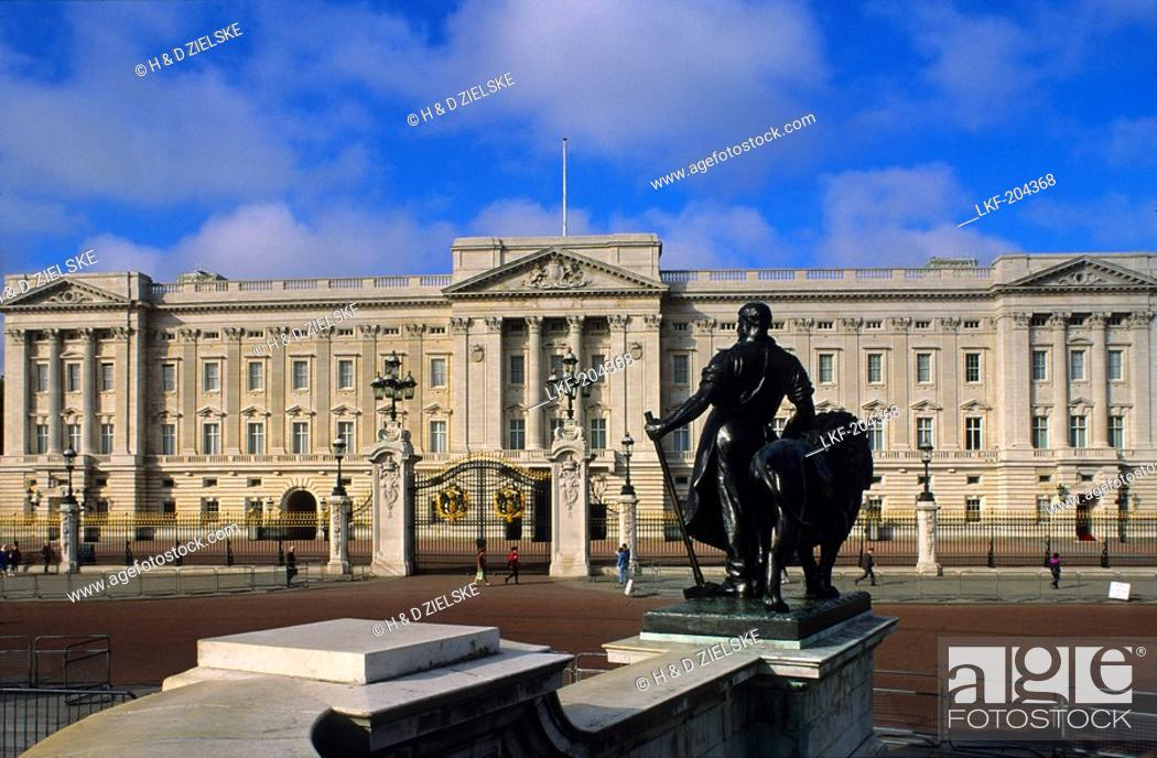 Imagen: Europe, Great Britain, England, London, Buckingham Palace.