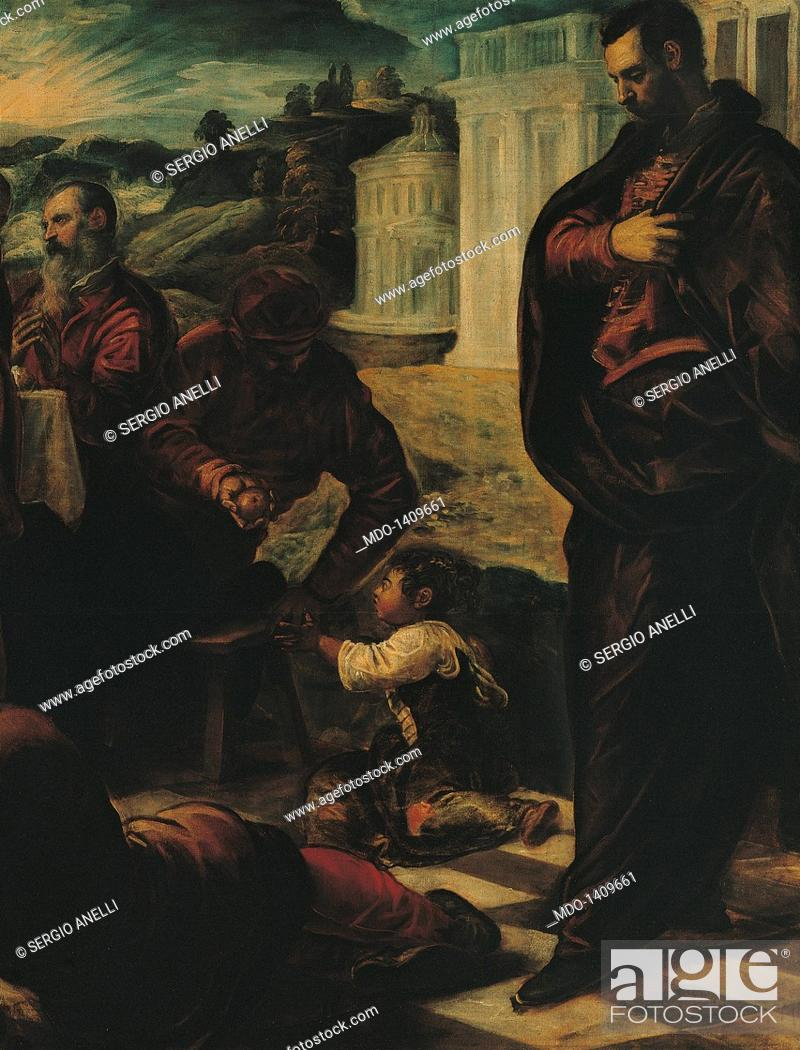 Tintoretto Last Supper Details