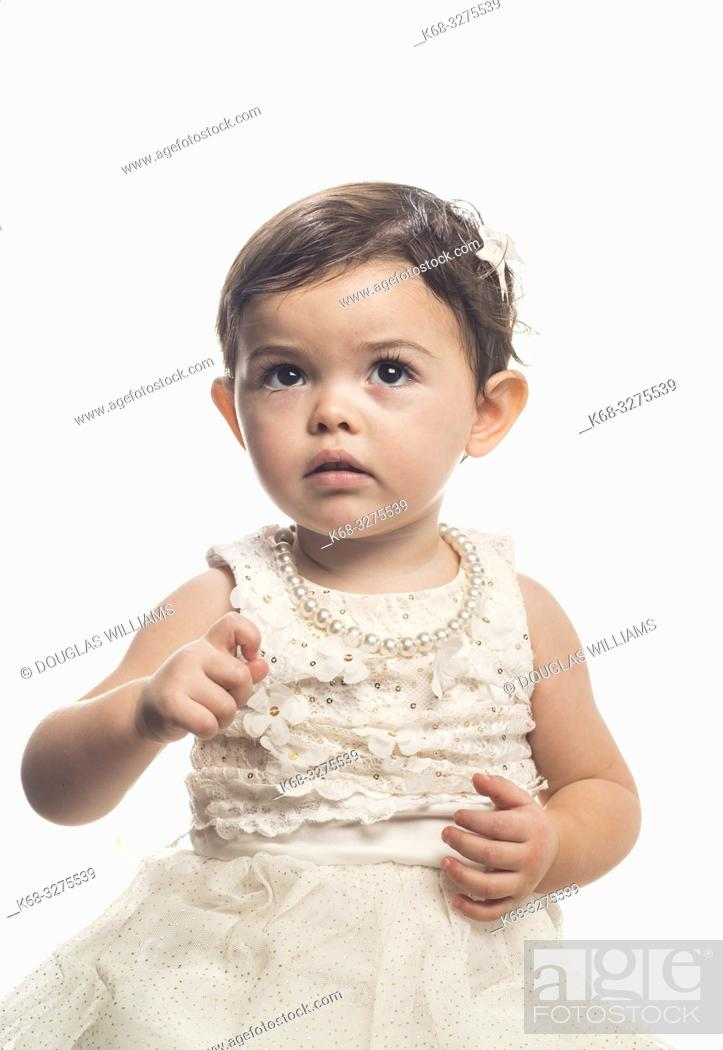 Stock Photo: 18 month old girl.