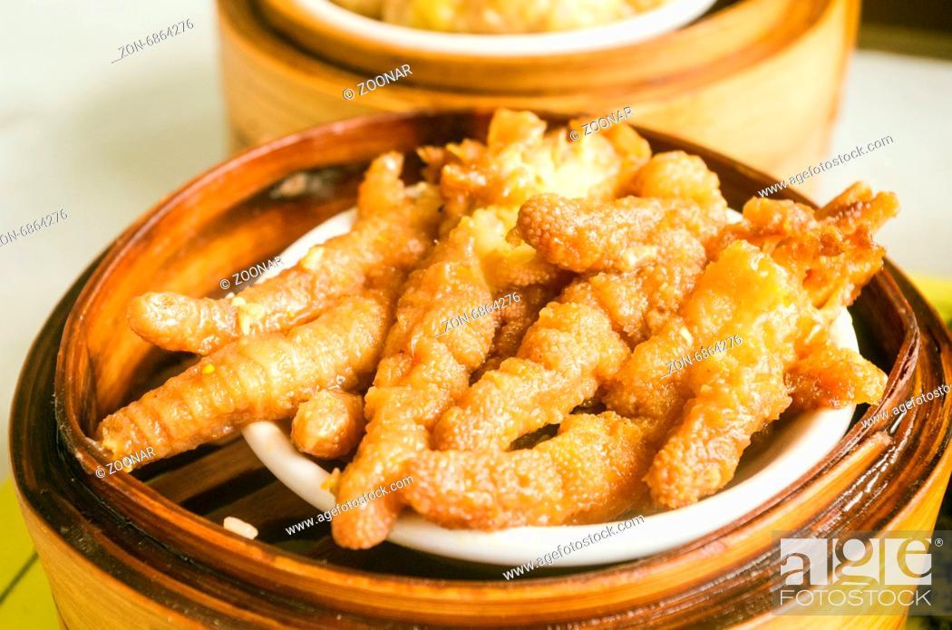 Chicken Feet As Dim Sum Dish Popular Cantonese Dish In Hong Kong