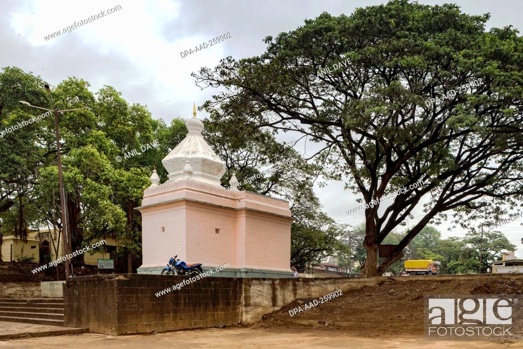 Imagen: Krishna temple, sangli, Maharashtra, India, Asia.