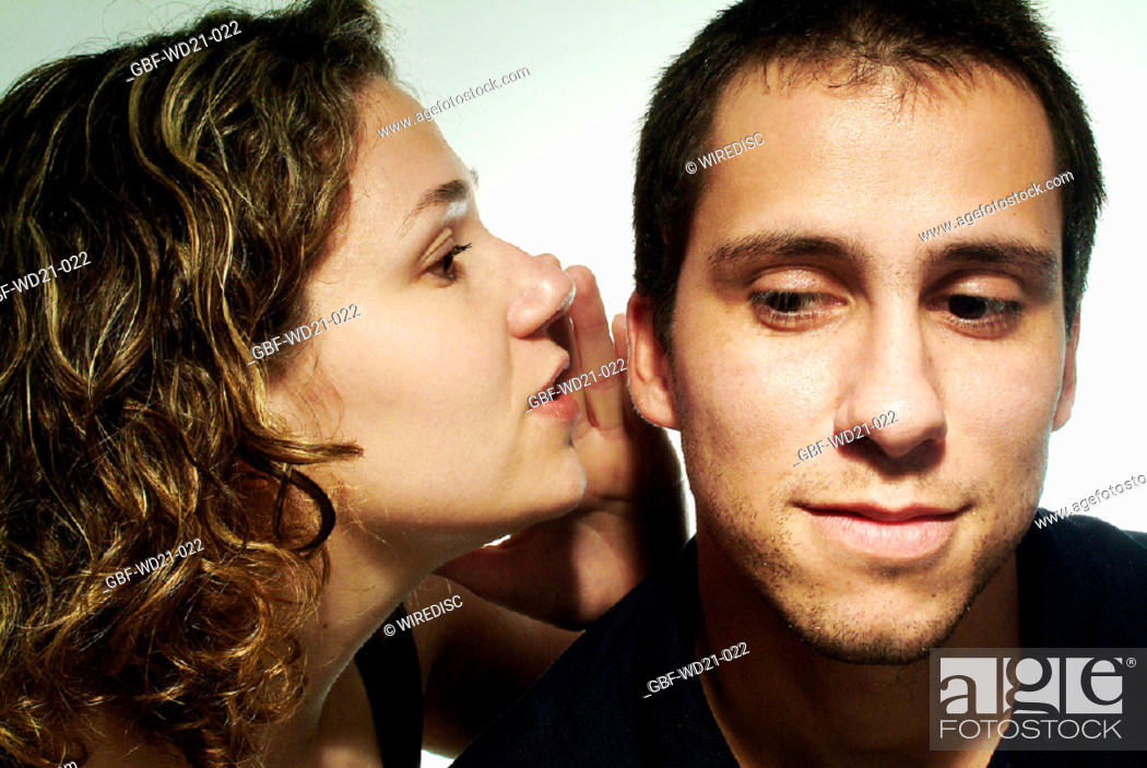 Stock Photo: People, man, woman, expression.