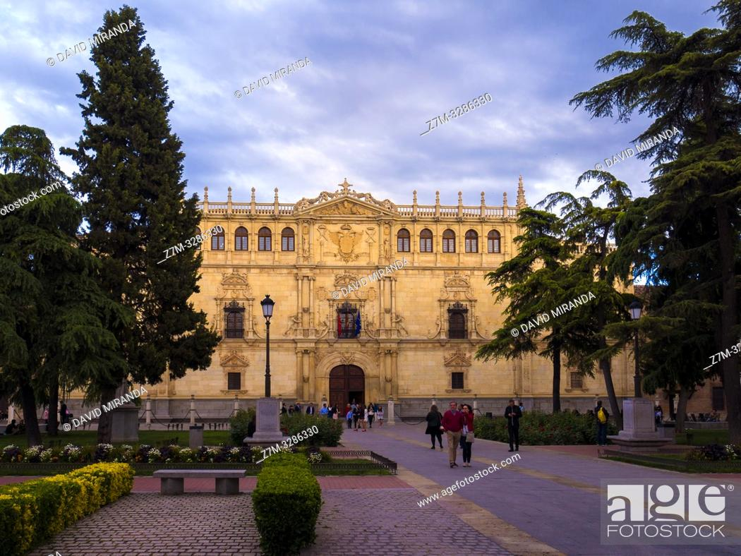Imagen: Universidad de Alcalá de Henares. Madrid. España.