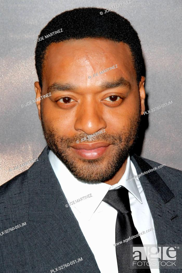 Stock Photo: Chiwetel Ejiofor at the Premiere of Secret In Their Eyes held at the Hammer Museum in Westwood, CA, November 11, 2015. Photo by Joe Martinez / PictureLux.