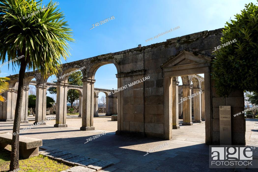 Stock Photo: Former Bishop Palace of Miranda do Douro. Braganca District, Norte Region, Portugal, Europe.