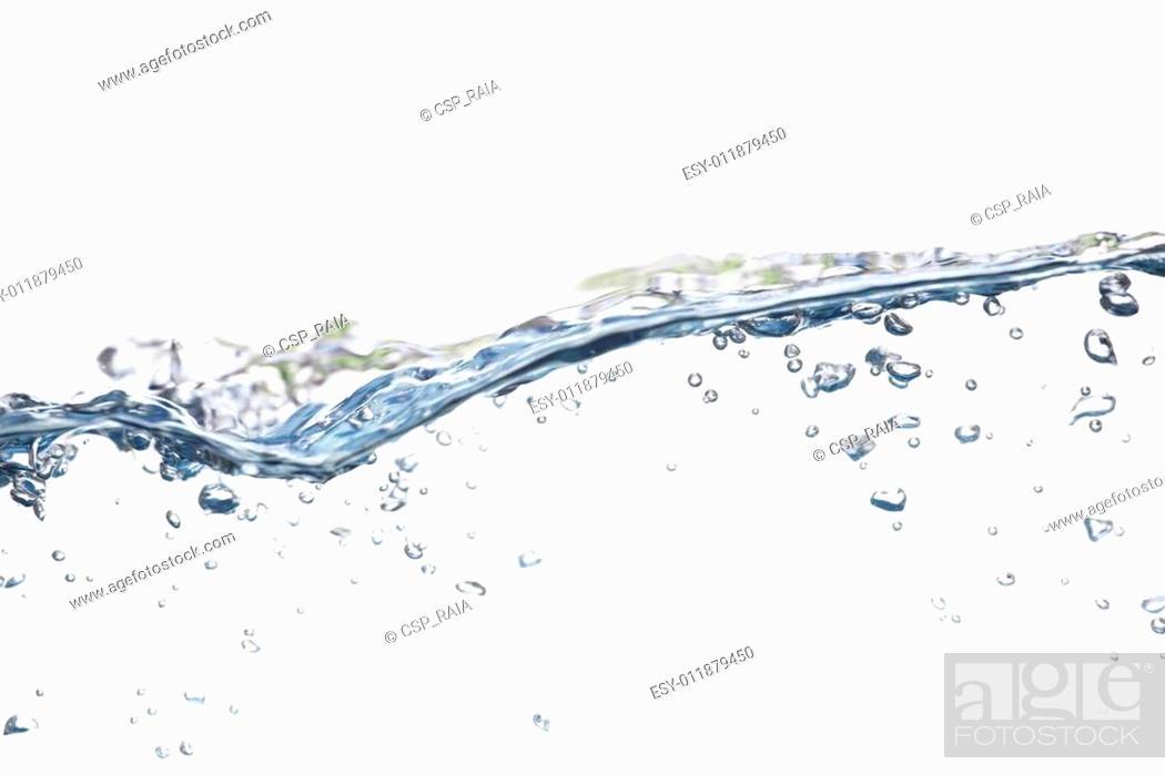 Stock Photo: water bubble.