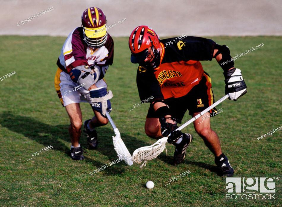Stock Photo: Lacrosse.