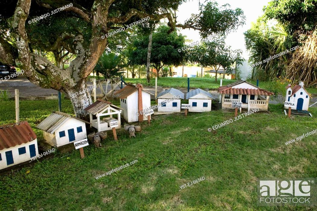 Stock Photo: Model of a Farm of Cocoa, Ilhéus, Bahia, Brazil.