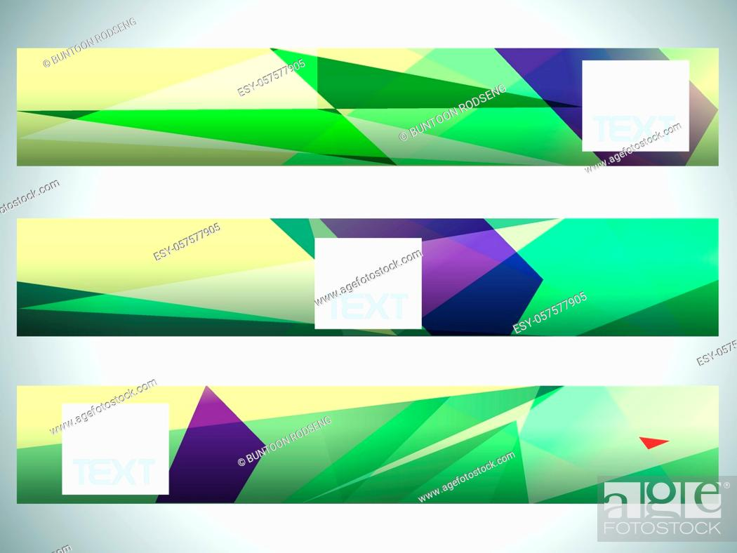 Stock Vector: Abstract set triangle art shine background, eps10.