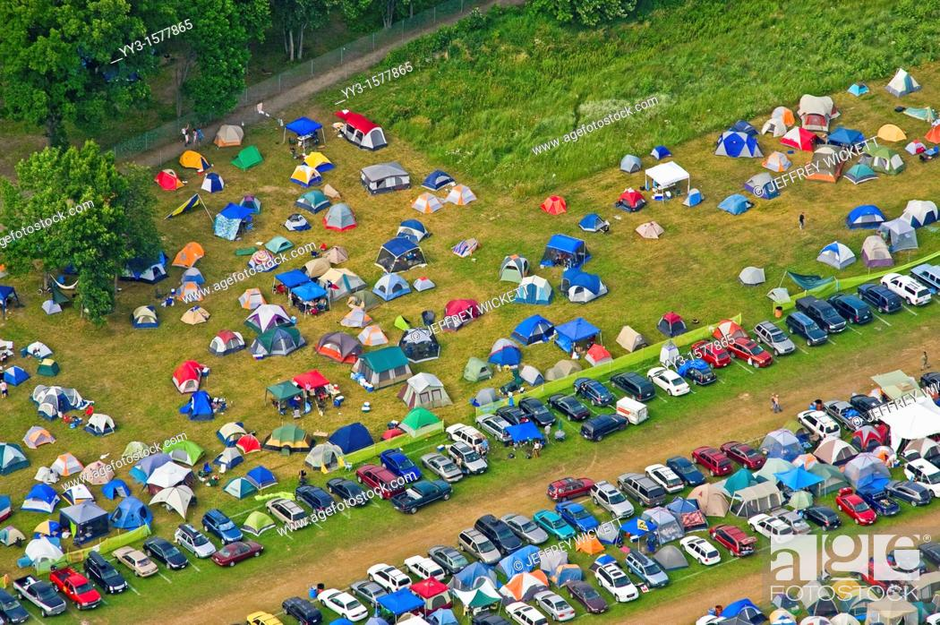 Stock Photo: The Rothbury Festival is a four-day jam band music festival in Rothbury, Michigan at the Double JJ Resort.