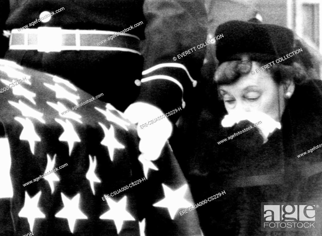 President Eisenhower's funeral  Mamie Eisenhower, the former