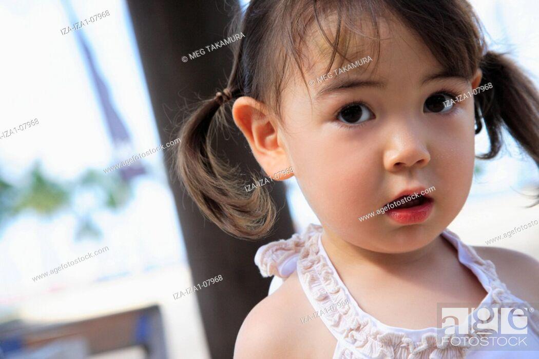Imagen: Close-up of a girl.
