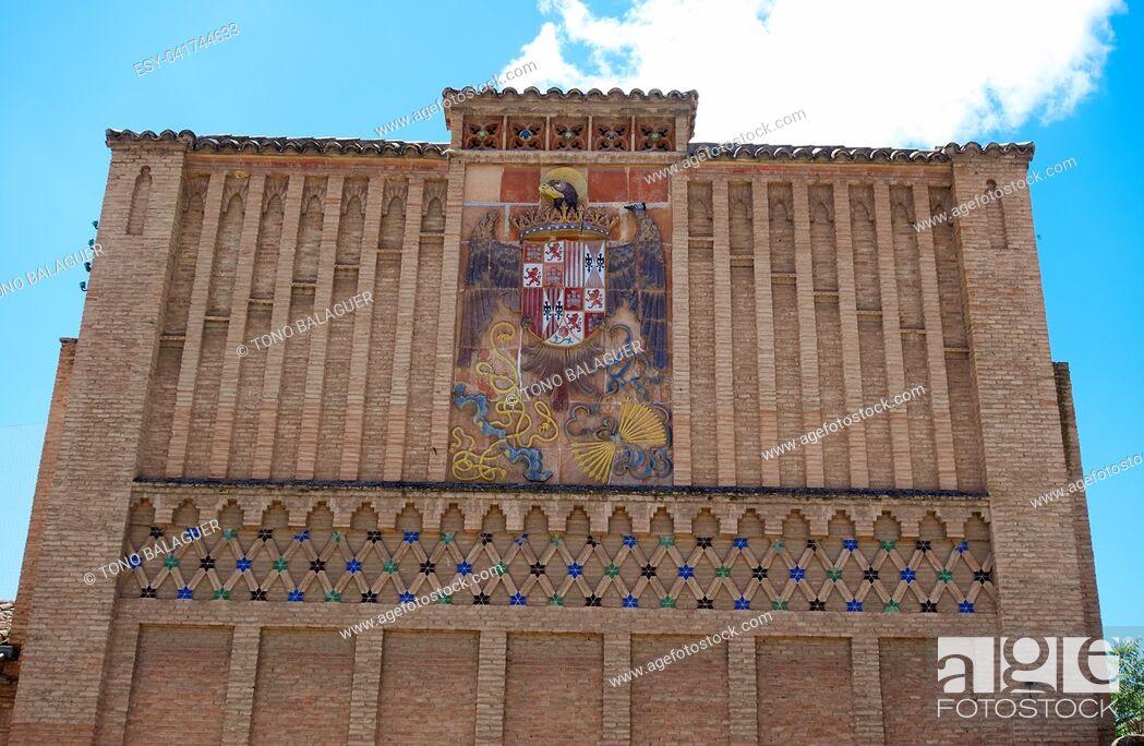 Imagen: Sofer square facade in Toledo of Spain.