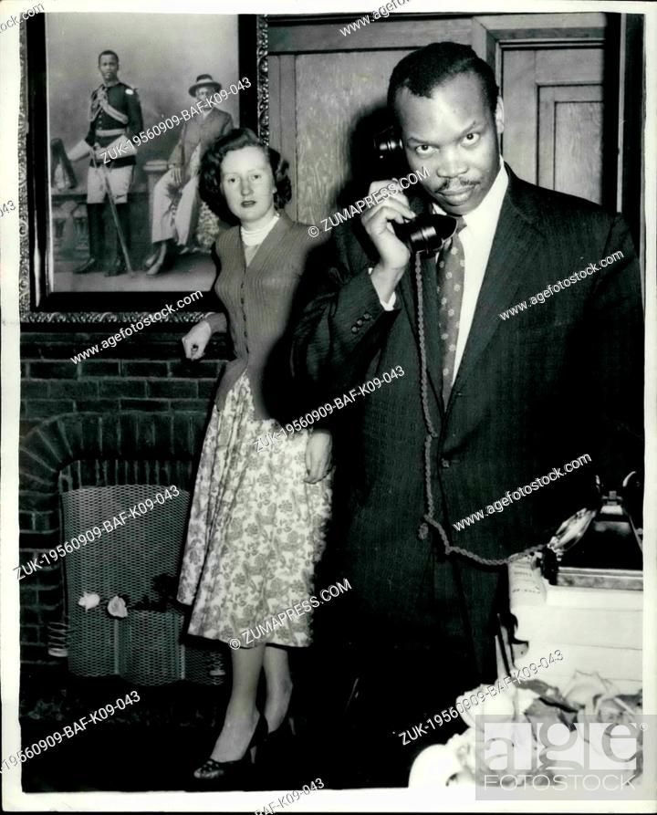 Sep  09, 1956 - Seretse Khama going home: After six years of