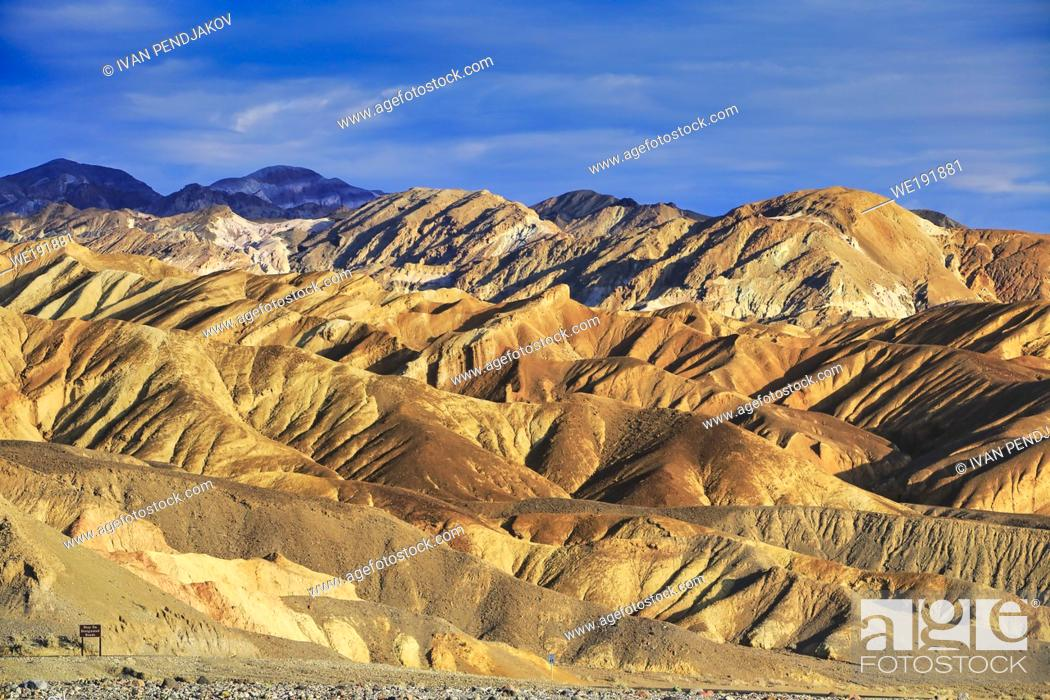 Stock Photo: Death Valley National Park, California, USA.