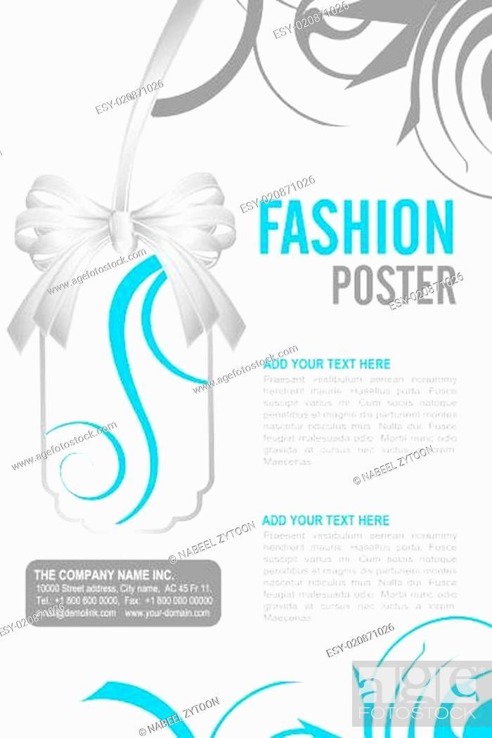 Stock Photo: Leaflet design.