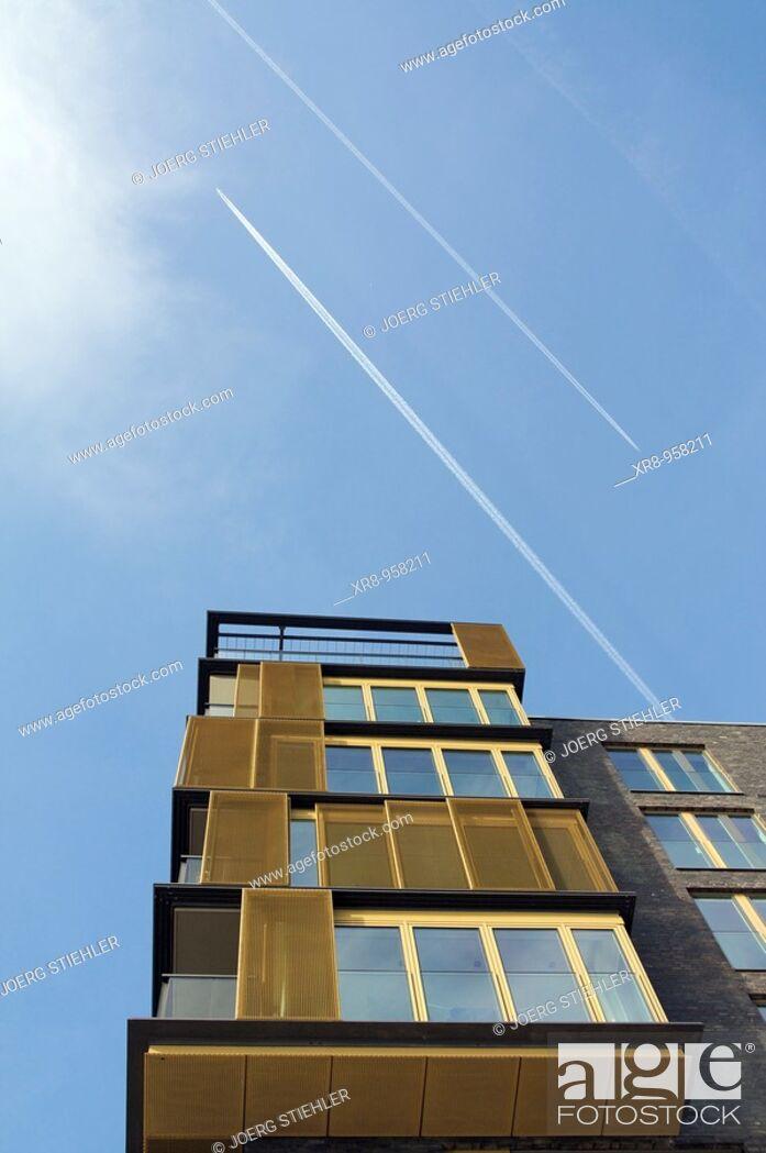Stock Photo: HafenCity, Hamburg, Germany.