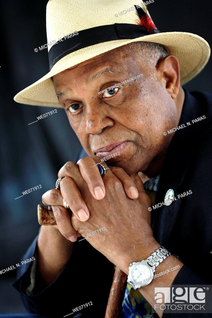 Stock Photo: African American Senior Man.