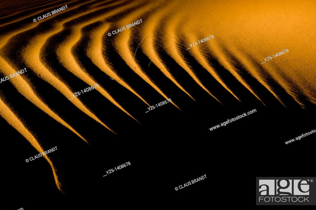 Stock Photo: Sand dune structure  Tiras.