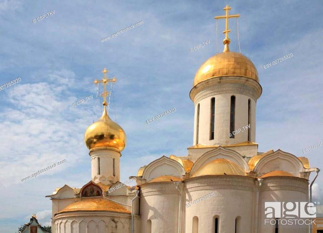 Stock Photo: The Holy Trinity Saint Sergius Lavra.