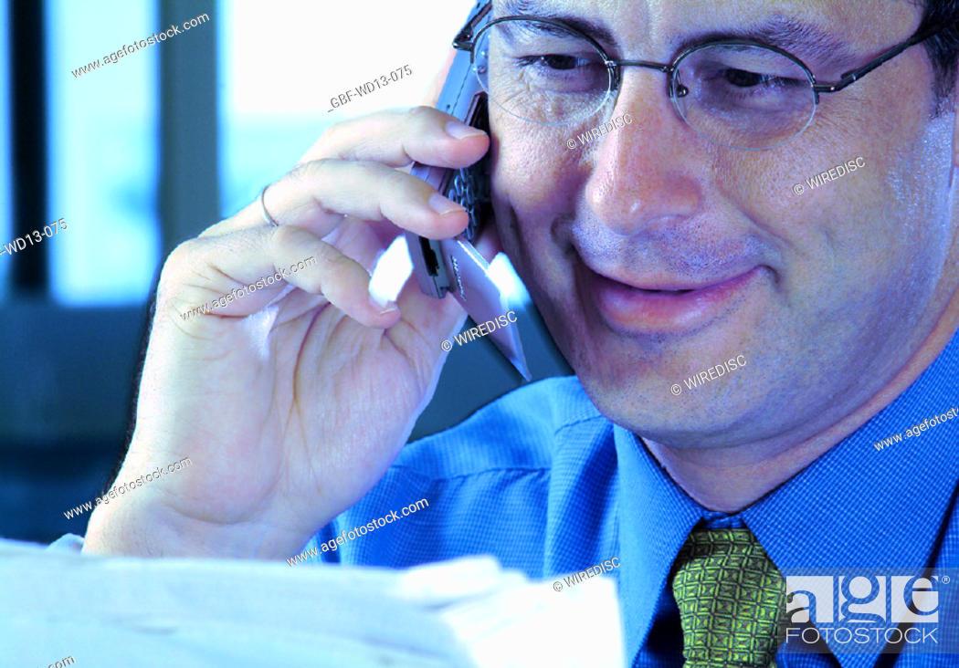 Stock Photo: Businesseman, man executive, Brazil.